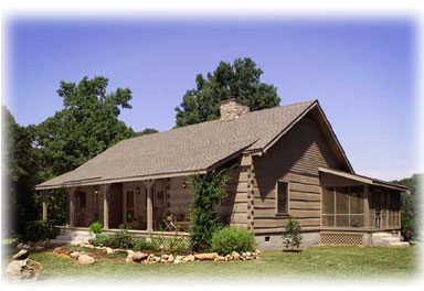 Hearthstone log and timber frame homes fastrack special for One story log house plans