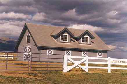 Timber Frame Horse Barn