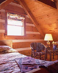 Fishing Cabin's Sleeping Loft