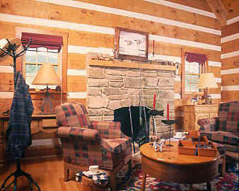 Fishing Cabin's Living Room
