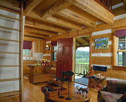 Fishing Cabin Foyer